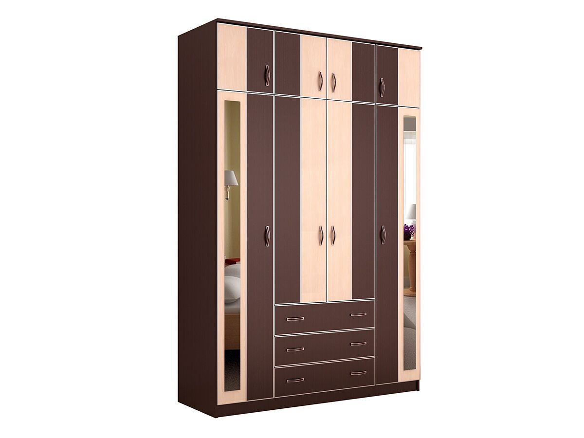 Шкаф распашной глэдис Чк-12 владимирская мебель.