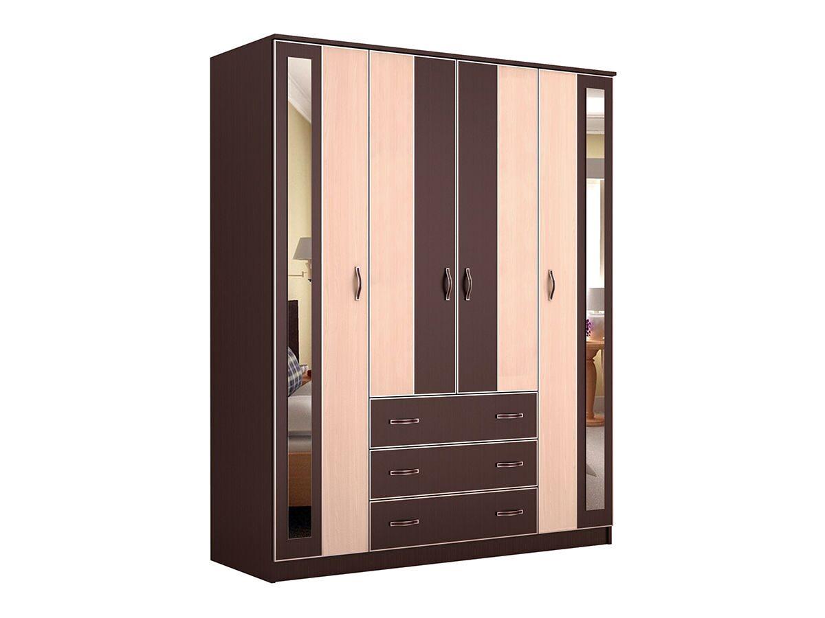 Шкаф распашной глэдис Чк-2 владимирская мебель.